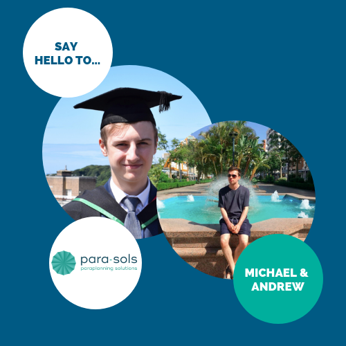 Say hello to… Michael & Andrew