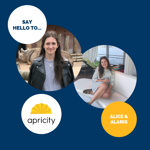 Say hello to… Alice and Alanis!